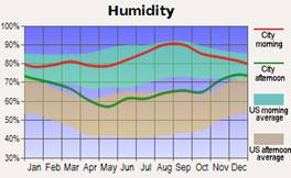 Iron Mountain, Michigan humidity